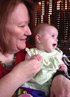 Mom and my youngest Lily Bean a few months before our world changed. I get my creativity from her. <3