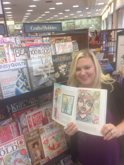 "Obligatory ""I'm Published"" shot at Barnes & Noble! LOL"